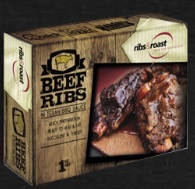 SOUS VIDE COOKED BEEF RIBS TEXAN BBQ SAUCE 1kg PACK