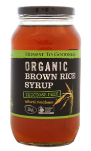 Brown Rice Syrup (1kg) - Honest to Goodness