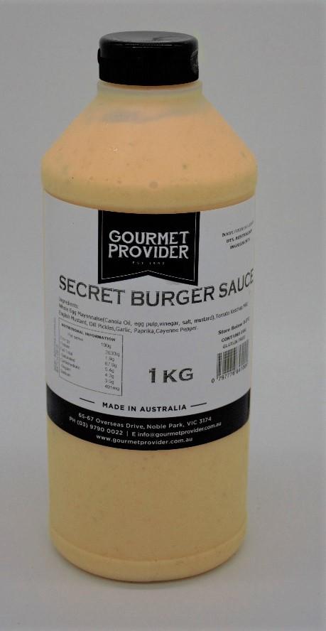 Secret Burger Sauce 1L