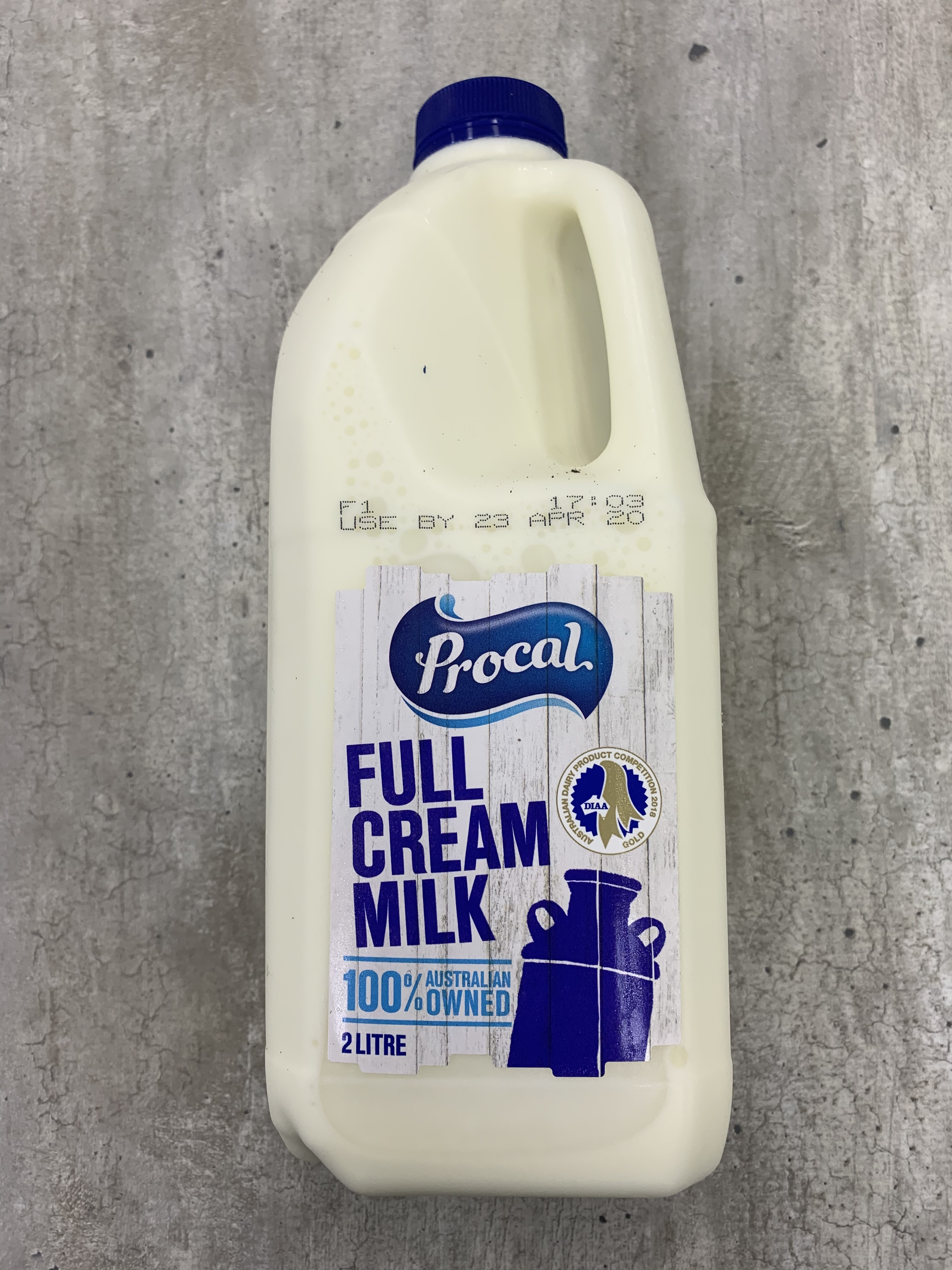 Full Cream Milk 2ltr