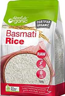 Basmati Rice 700g - Absolute Organic