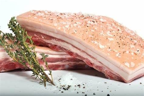 Pork Belly Boneless Skin On (1kg)