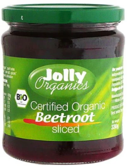 Beetroot Slices (330g) - Jolly Organics