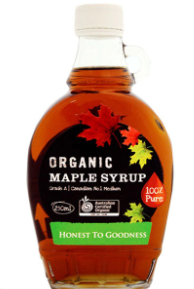 Organic Maple Syrup (250ml) - Honest to Goodness