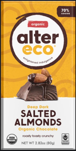 Salted Almonds - Alter Eco