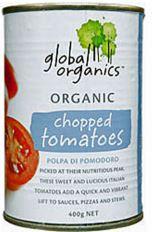 Chopped Tomato 400g - Global Organics
