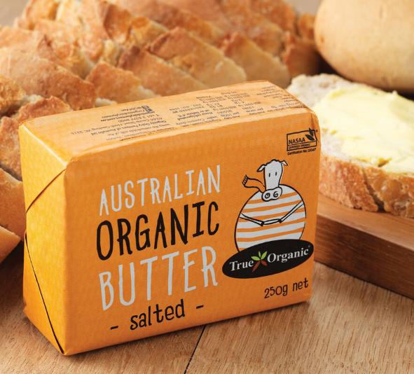 Butter Salted Butter (250g) - True Organic