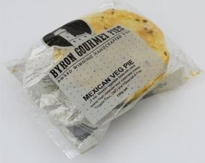 Mexican Veg (220g) - Bryon Bay Pies