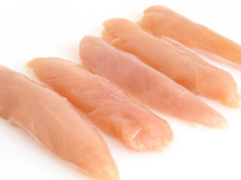 1 Kg  Raw Chicken Tenderloins