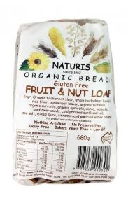 Fruit Loaf Gluten Free - Naturis