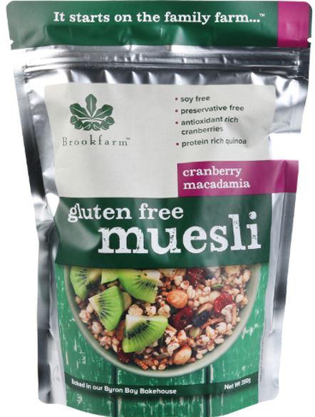 Gluten Free Muesli (1.5kg) - Brookfarm