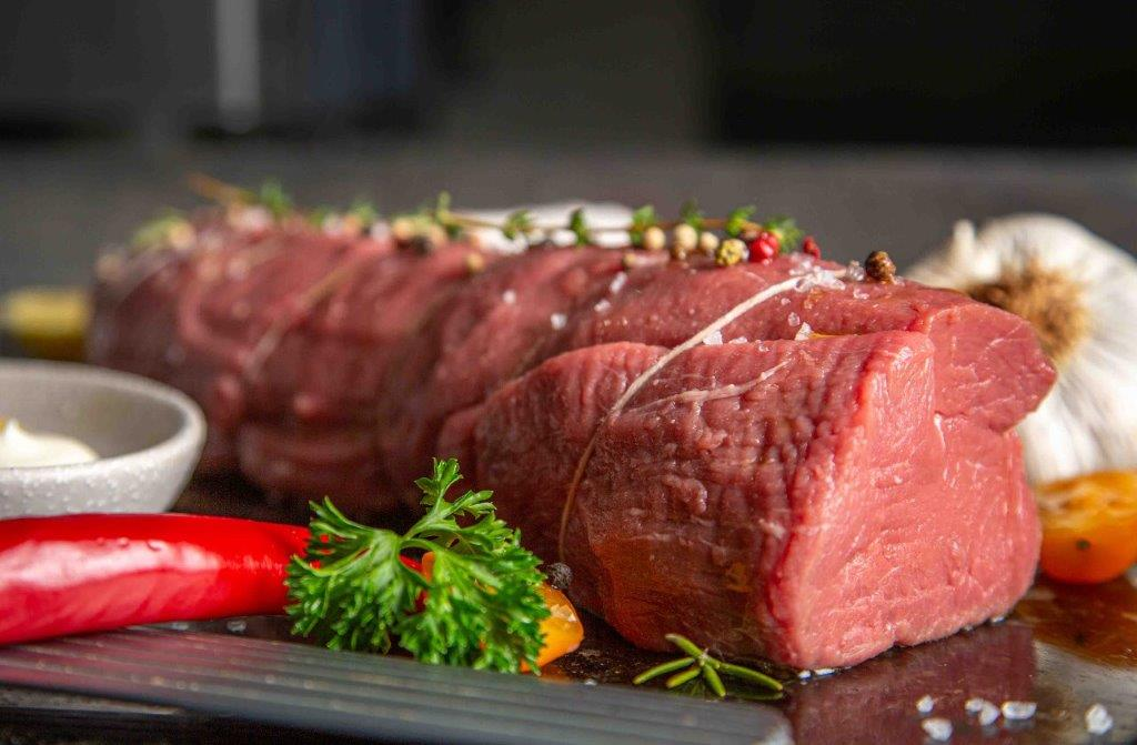 Beef Eye Fillet Whole Pasture Fed 1.8kg +