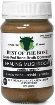Bone Broth - Healing Mushroom 375g - Best of the Bone
