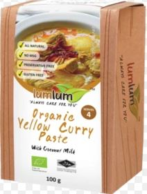 Curry Paste Yellow Curry - LumLum