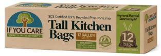 Tall Kitchen Bags (49.2L) - If you Care