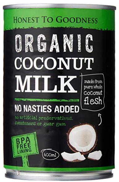 Coconut Milk 400ml - Honest to Goodness