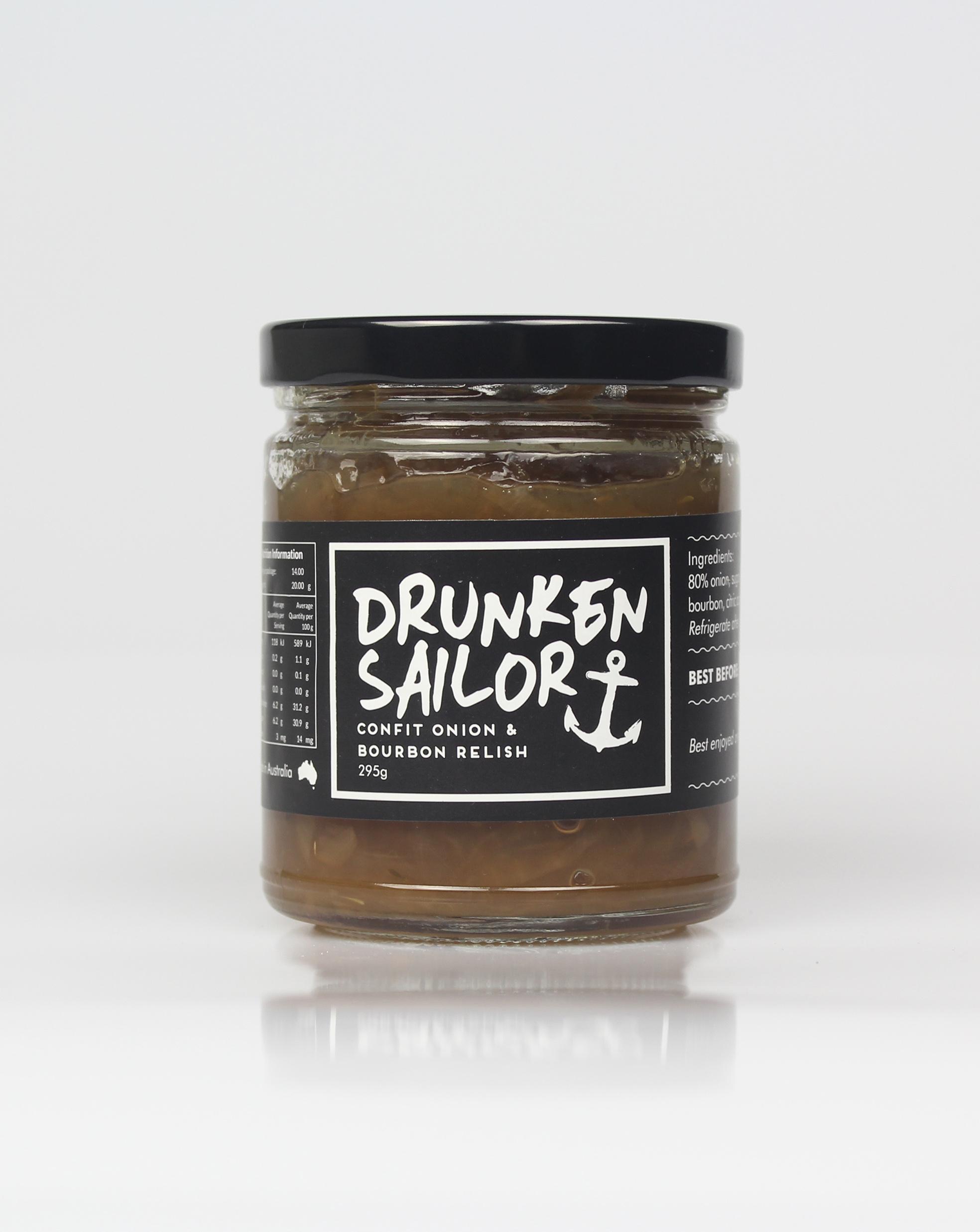 Drunken Sailor Confit Onion & Bourbon Jar 260g