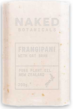Body Soap Bar Frangipani - Naked Botanicals