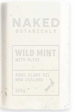 Body Soap Bar Wild Mint - Naked Botanicals
