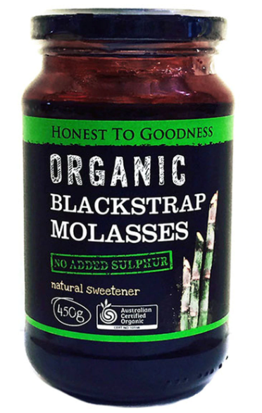 Organic Blackstrap Molasses (450g) - Honest to Goodness