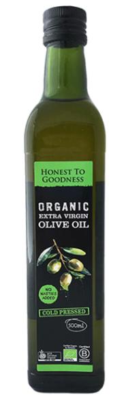 Extra Virgin Olive Oil (500ml) - Honest to Goodness