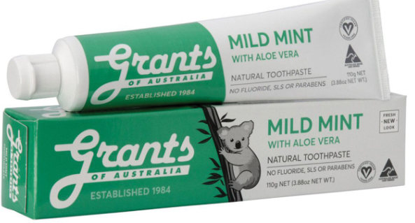 Toothpaste Mild Mint (110g) - Grants