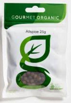 Allspice (25g) - Gourmet Organic