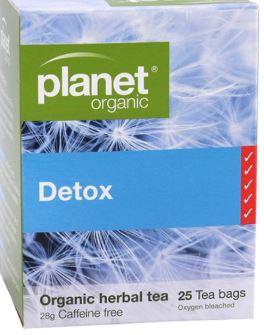 Detox 25 Bags (28g) - Planet Organic