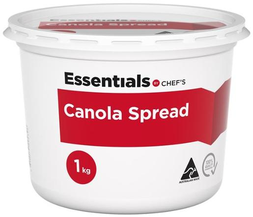 Chefs Canola Spread 1kg