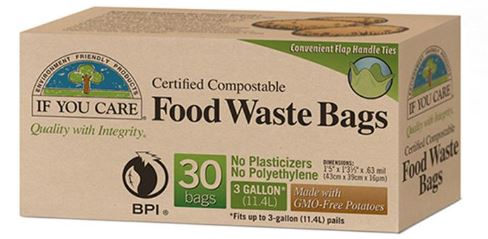 Food Waste Bags (11.4L) - If you Care