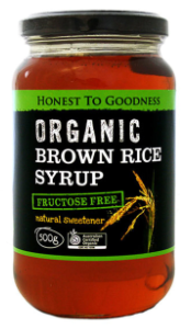Brown Rice Syrup (500ml) - Honest to Goodness