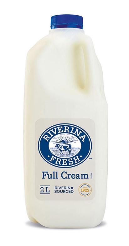 Milk Whole 2L