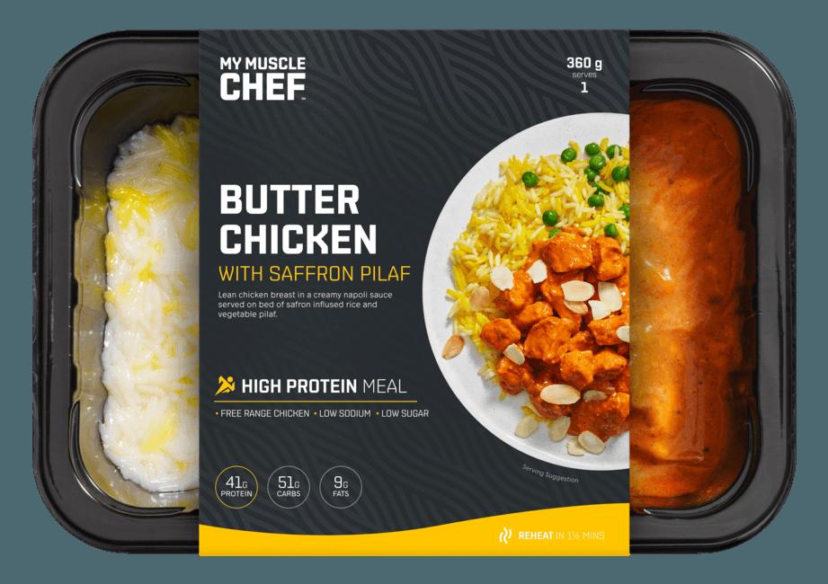 Butter Chicken with Saffron Pilaf