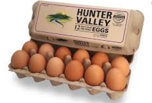 Eggs Dozen Free Range - Hunter Valley