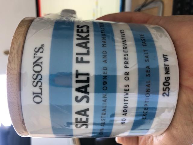 Olssons sea salt flakes