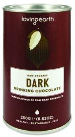 Dark Drinking Chocolate (250g) - Loving Earth