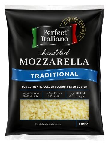 Mozzarella Shredded 1 kg