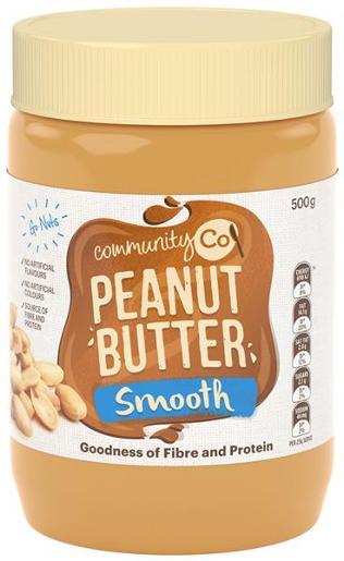 Peanut Butter Smooth 500gr