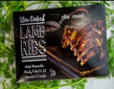 SOUS VIDE COOKED LAMB RIBS In BBQ SAUCE 1KG PACK