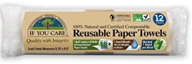 Reusable Paper Towels (12) - If you Care