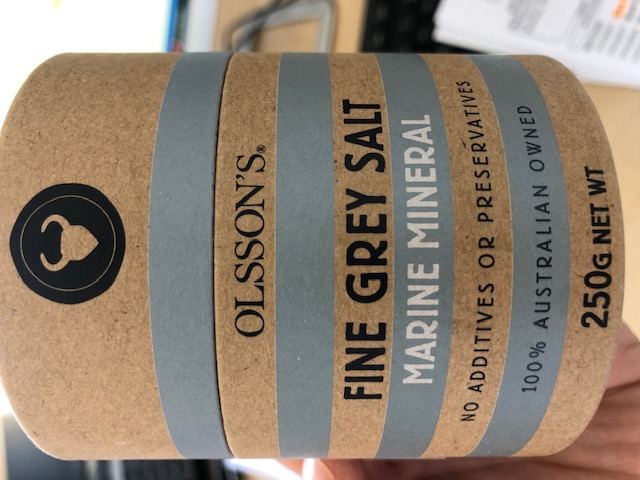olssons fine grey salt 250 g