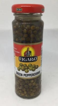 Green Peppercorns (65g) - Figaro