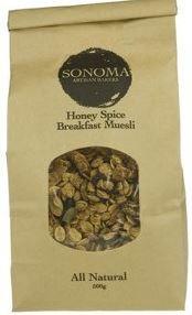 Honey Spice Muesli (500g) - Sonoma