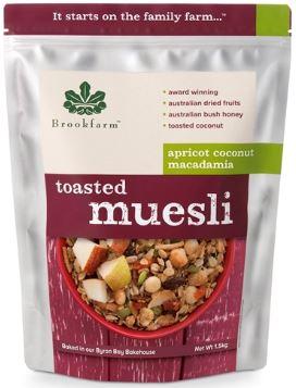 Toasted Muesli (1.5kg) - Brookfarm