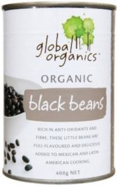 Black Beans 400g - Global Organics