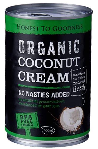 Coconut Cream 400ml - Honest to Goodness