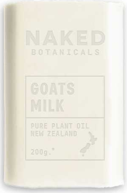 Body Soap Bar Goats Milk - Naked Botanicals