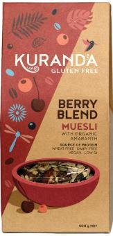 Gluten Free Berry Blend Muesli (500g) - Kuranda