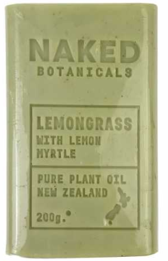 Body Soap Bar Lemongrass - Naked Botanicals