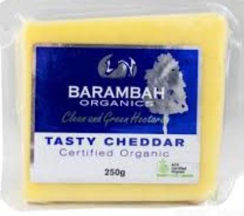 Cheese Block Cheddar (250g) - Barambah